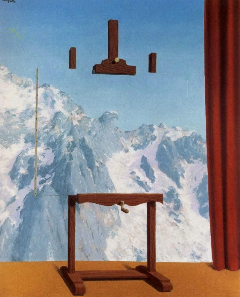 Ren_ Magritte , Call of Peaks, 1943.jpg