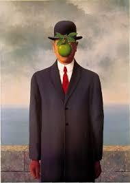 Rene Magritte, 인간의 아들_ Son of Man, 1946.jpg